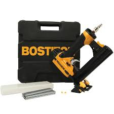 shop bostitch 1 5 in 18 pneumatic stapler at lowes com