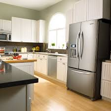 uncategories fridge and stove corner refrigerator kitchen middle