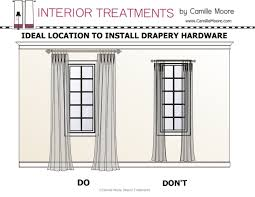 decor hanging curtains all wrong wonderful how to hang drapes