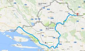 11 day balkan peninsula itinerary croatia montenegro and bosnia