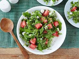 arugula watermelon and feta salad recipe ina garten food network