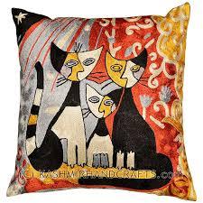 Modern Cushions For Sofas Modern Cat Pillows Archives Kashmir Arts Craftskashmir
