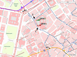 Vienna Metro Map by Ofai How To Reach Us