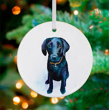 best friend baby black lab ornaments greenbox