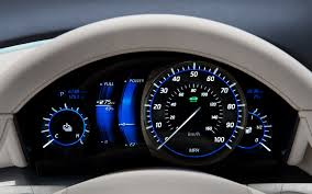 lamborghini speedometer infiniti le from concept to ev motor trend
