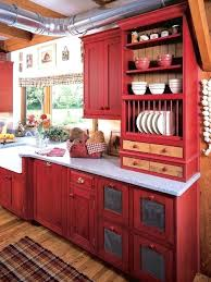 open cabinets in kitchen red cabinet kitchen motauto club