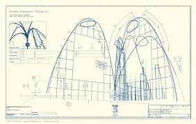 wedding arch blueprints roller coaster blueprint vbs roller coaster