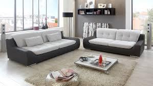 sofa anthrazit spike 2 5 sitzer in hellgrau und anthrazit 200 cm