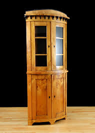 biedermeier corner cupboard in birch bonnin ashley antiques