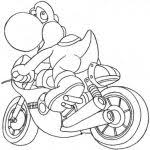 mario kart bowser coloring pages racing printable