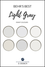 best white for cabinets behr the 6 best behr light gray paint colours cool and warm