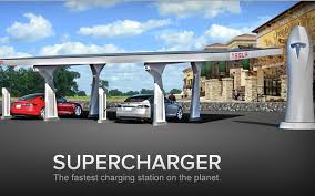 Tesla Charging Stations Map Tesla Is In The Filling Station Business Market Mad House