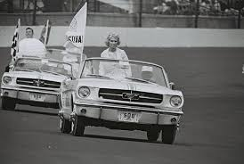 mustang of indianapolis wimbledon white 1964 ford mustang indianapolis pace car