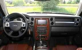 white jeep red interior 2009 jeep commander information and photos zombiedrive