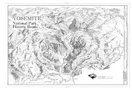 bridges of county map file historical base map yosemite national park roads and