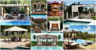 mesmerizing pool gazebo designs you need to see today