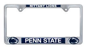 penn state alumni license plate penn state nittany lions 3d license plate frame elektroplate