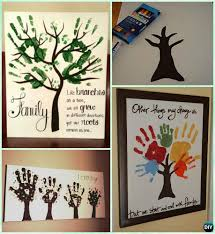 diy handprint craft gift ideas anyone can make