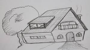 Ein Haus Wie Zeichnet Man Ein Haus Youtube