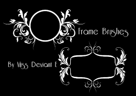 frames photoshop brushes by miss deviante on deviantart