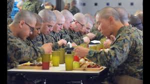 military thanksgiving thanksgiving at parris island youtube