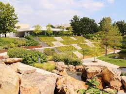 Oklahoma City Botanical Garden by Commercial Landscape Installation Landscape Contractors