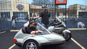 2003 honda goldwing with champion sidecar youtube
