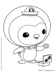 amazing printable cartoon octonauts coloring books kids
