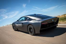 bmw supercar blue hydrogen to hit the highway new bmw i8 fuel cell unveiled by car