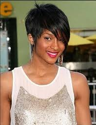 best short blonde weave hairstyles with side bangs for wavy hair