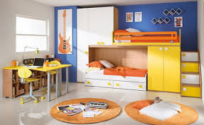 2 Bunk Beds Bright And Colorful Bedroom Tone With Bunk Beds Home