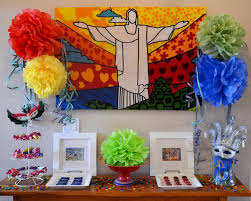 Olympic Themed Decorations Best 25 Brazil Party Ideas On Pinterest Fabric Buildings