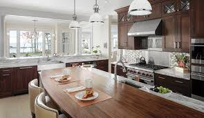 stylish and serene traditional kitchen by the coast plain