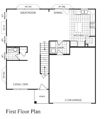 Essex Homes Floor Plans by Home Builders St Louis Mo Area Essex 2 Story 3 Bedroom House