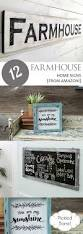 home signs decor 12 farmhouse home signs from amazon pickled barrel