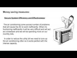 how to control air conditioner bills youtube