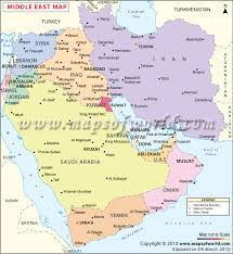 middle east map gulf of oman middle east map map showing the countries of middle east