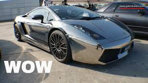 silver lamborghini chrome silver lamborghini superleggera speed junkies 2016 youtube