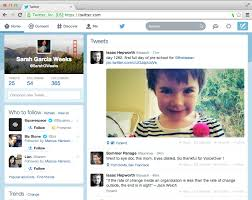 layout of twitter page twitter on twitter we re now rolling out a refreshed http t co