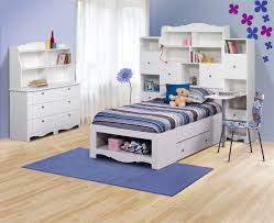 Kids Beds With Desk by Nexera Pixel Twin Tall Bookcase Storage Bed With Desk N 315803set1
