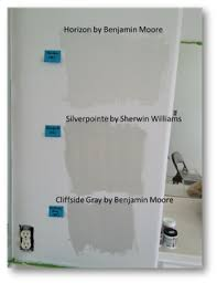 horizon by benjamin moore silverpointe by sherwin williams and