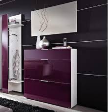 flur garderoben top 3tlg garderoben weiß glas brombeer schuhschrank wandpaneel