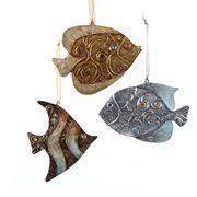december diamonds miss shell mermaid ornament christmas
