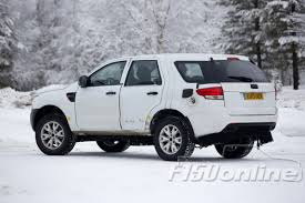 Ranger Svt Raptor Spy Shots Ford Ranger Suv Spotted In The Snow F150online Com