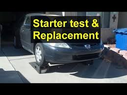 1998 honda accord starter solenoid how to test and replace your starter honda accord acura tsx