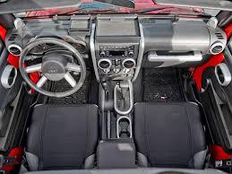 4 Door Jeep Interior Rugged Ridge Wrangler Interior Trim Accent Kit Brushed Silver