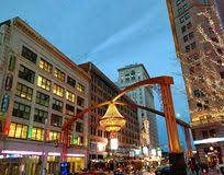 Cleveland Outdoor Chandelier Playhouse Square Cleveland Editorial Photo Image 48240331