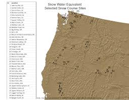 Map Of Lake Washington by National Climate Report March 2015 Snowfall Water Equivalent