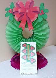 Retro Paper Christmas Decorations - 265 best honeycomb christmas decorations images on pinterest