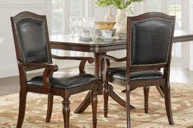 Leather Dining Room Chairs With Arms Wooden Kitchen Chairs With Arms Kutskokitchen